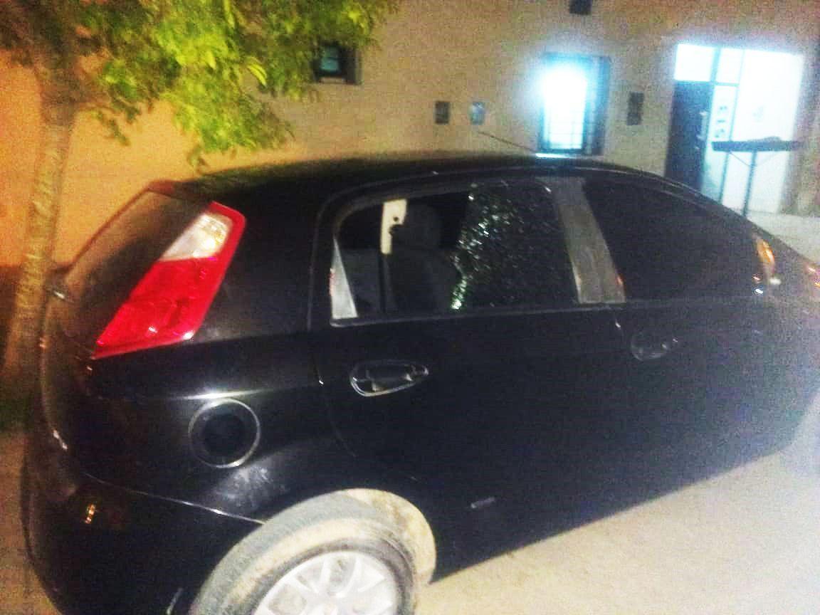 auto roto vidrio sunchales robo