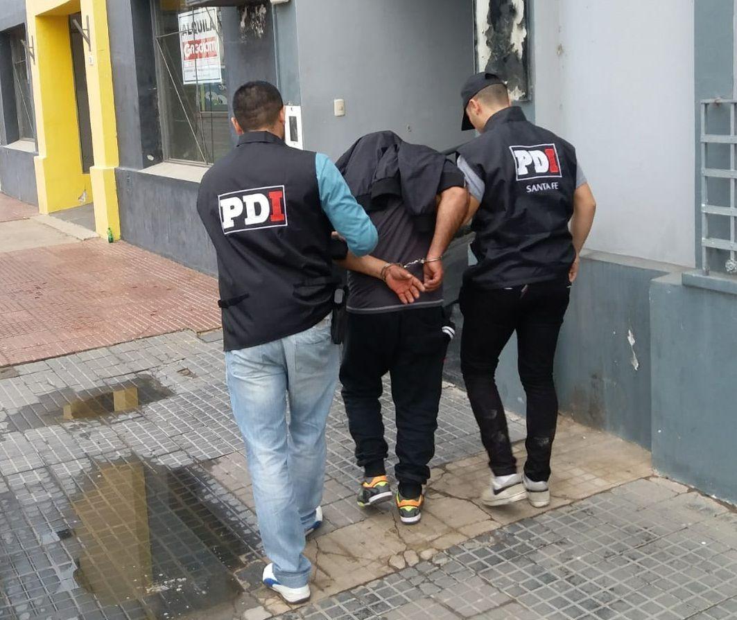 pdi allanamiento detenido sunchales
